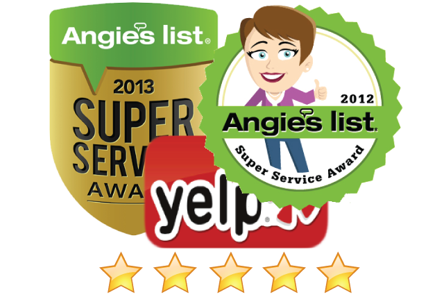 Highest Rated Appliance Repair Companies on Angieslist and Yelp